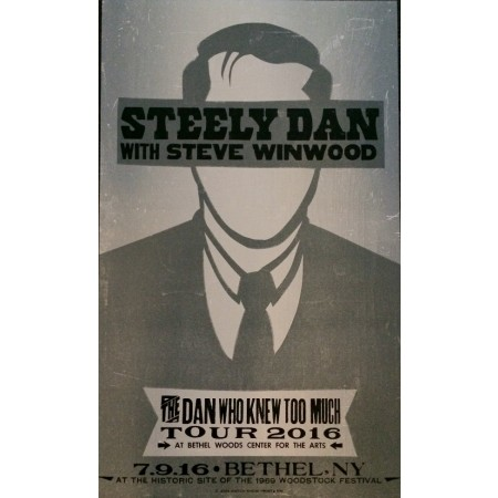 Steely Dan - Collectible Hatch Show Print