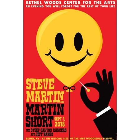 2018 Concert Posters-Steve Martin & Martin Short