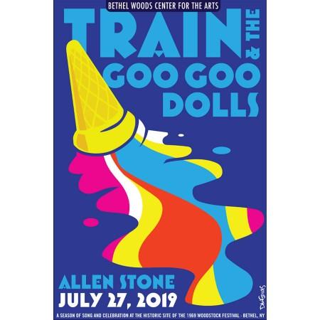 Train and Goo Goo Dolls Concert Poster
