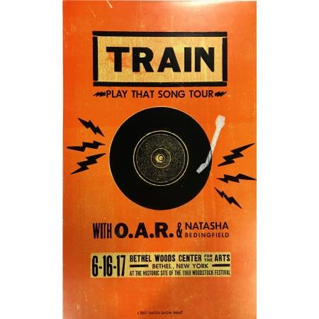 Train/OAR - Collectible Hatch Show Print
