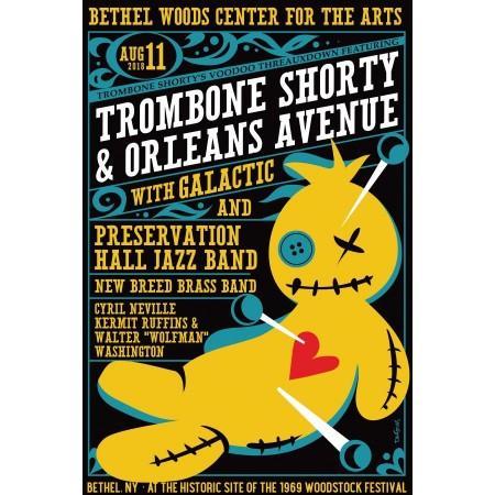 2018 Concert Posters-Trombone Shorty