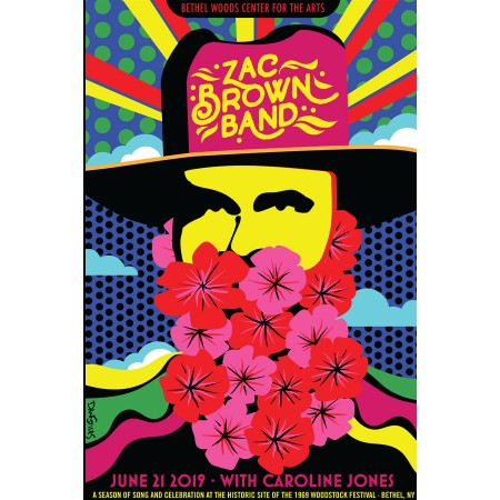 Zac Brown Show Print 2019