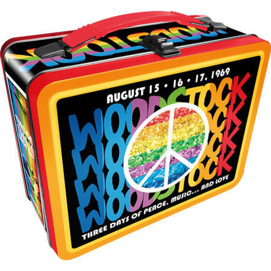 Woodstock Peace Lunch Box Woodstock 50th Anniversary