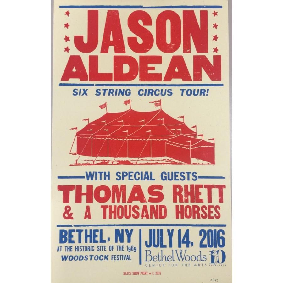 Jason Aldean - Collectible Hatch Show Print - Art/Prints/Posters ...