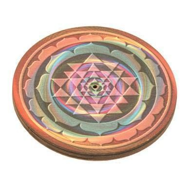 Round Incense Burners