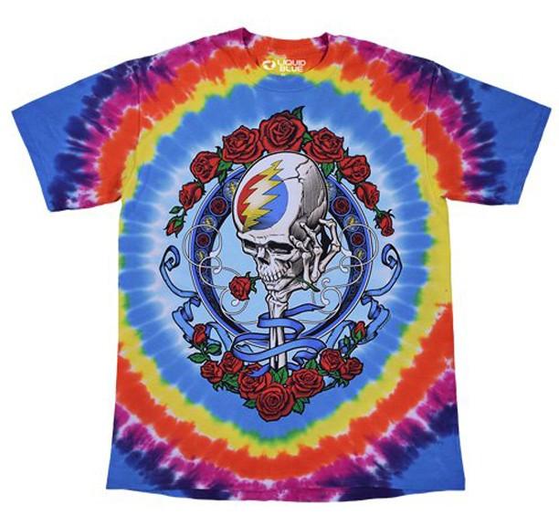 T Shirt Never Dead Grateful Dead
