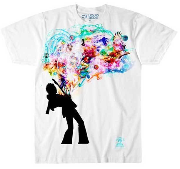 T shirt Jimi Hendrix: Soul Explosion