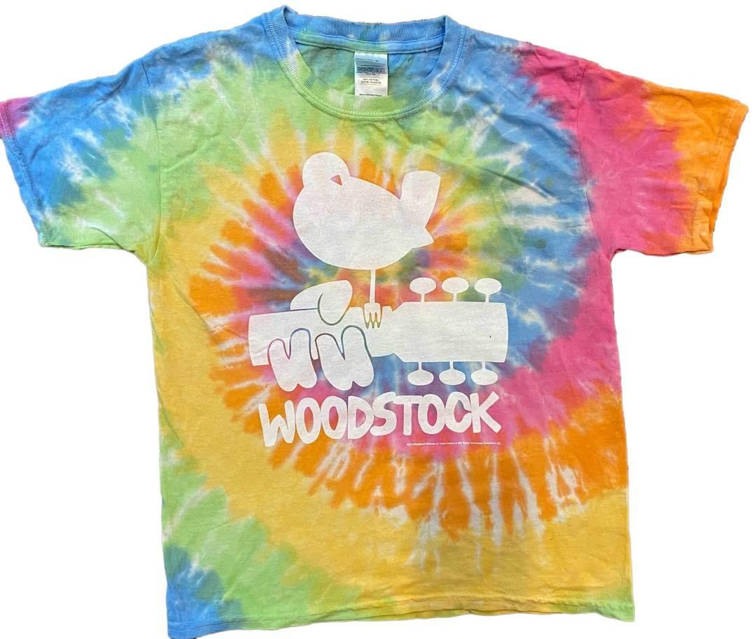 Woodstock Kids Tie Dye Tee Shirt