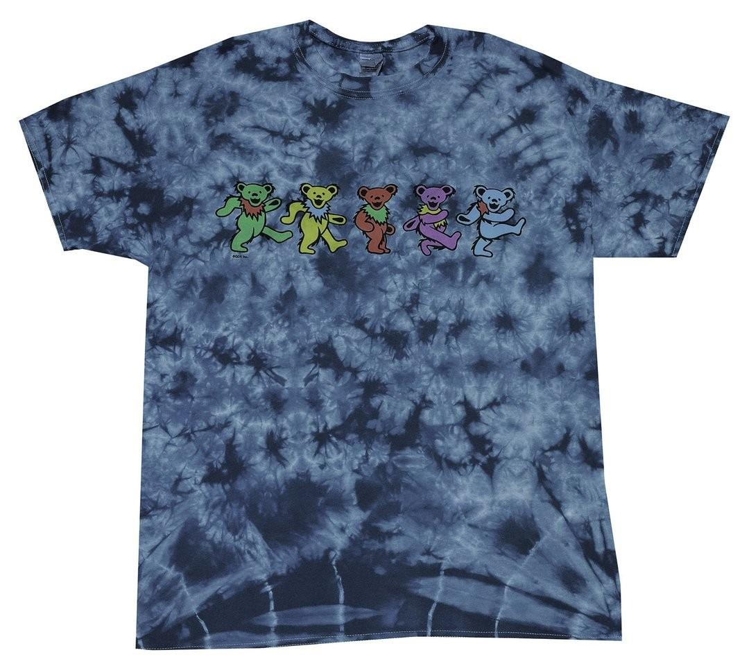 T-Shirt: Grateful Dead tie Dye Dancing Bears