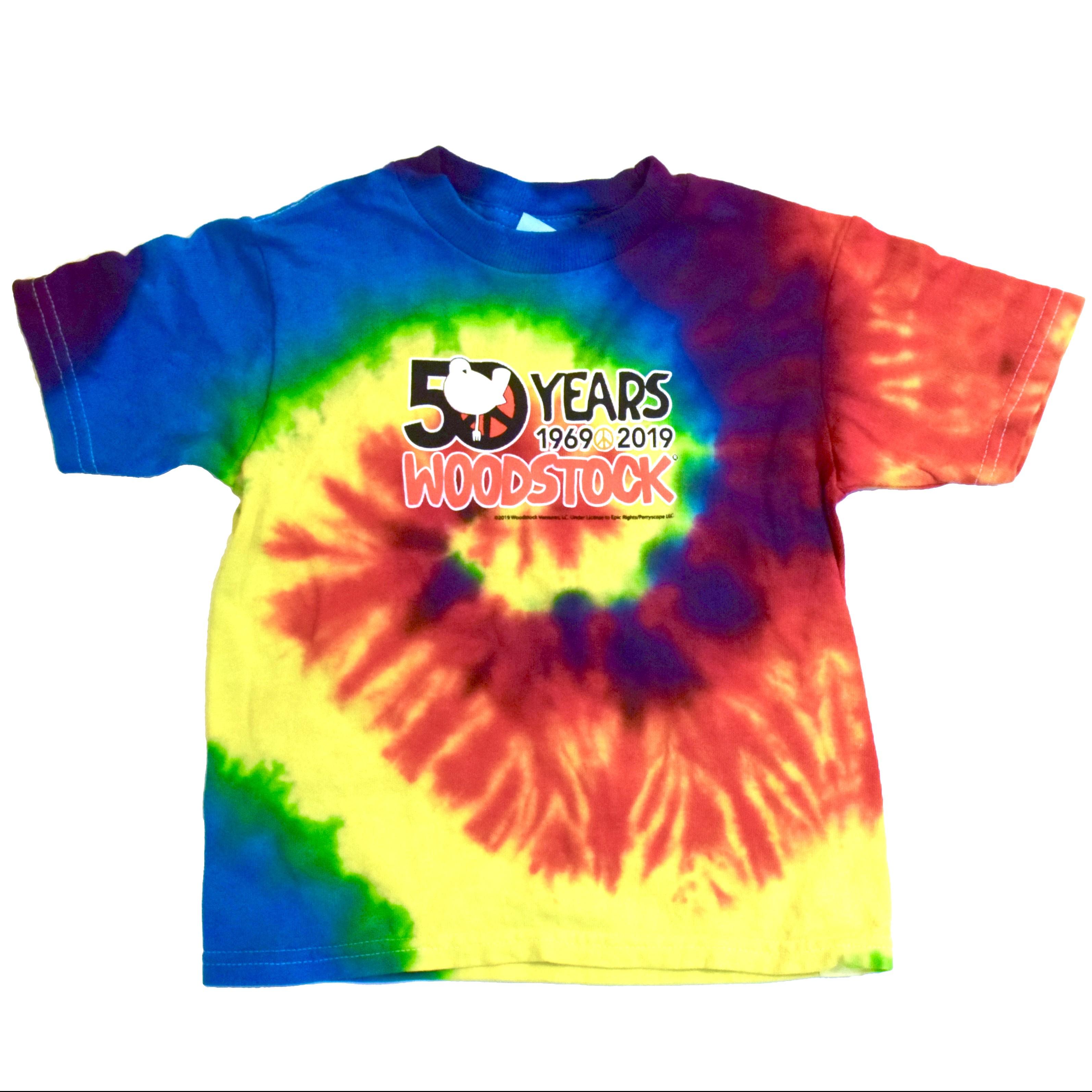 Vintage Woodstock 50th Toddler T Shirt