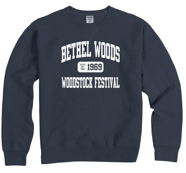 Sweatshirt, Crewneck - BW Garment Washed Varsity