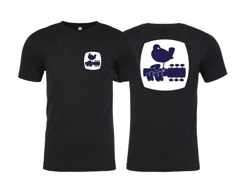 Woodstock Peace Patrol T Shirt Black