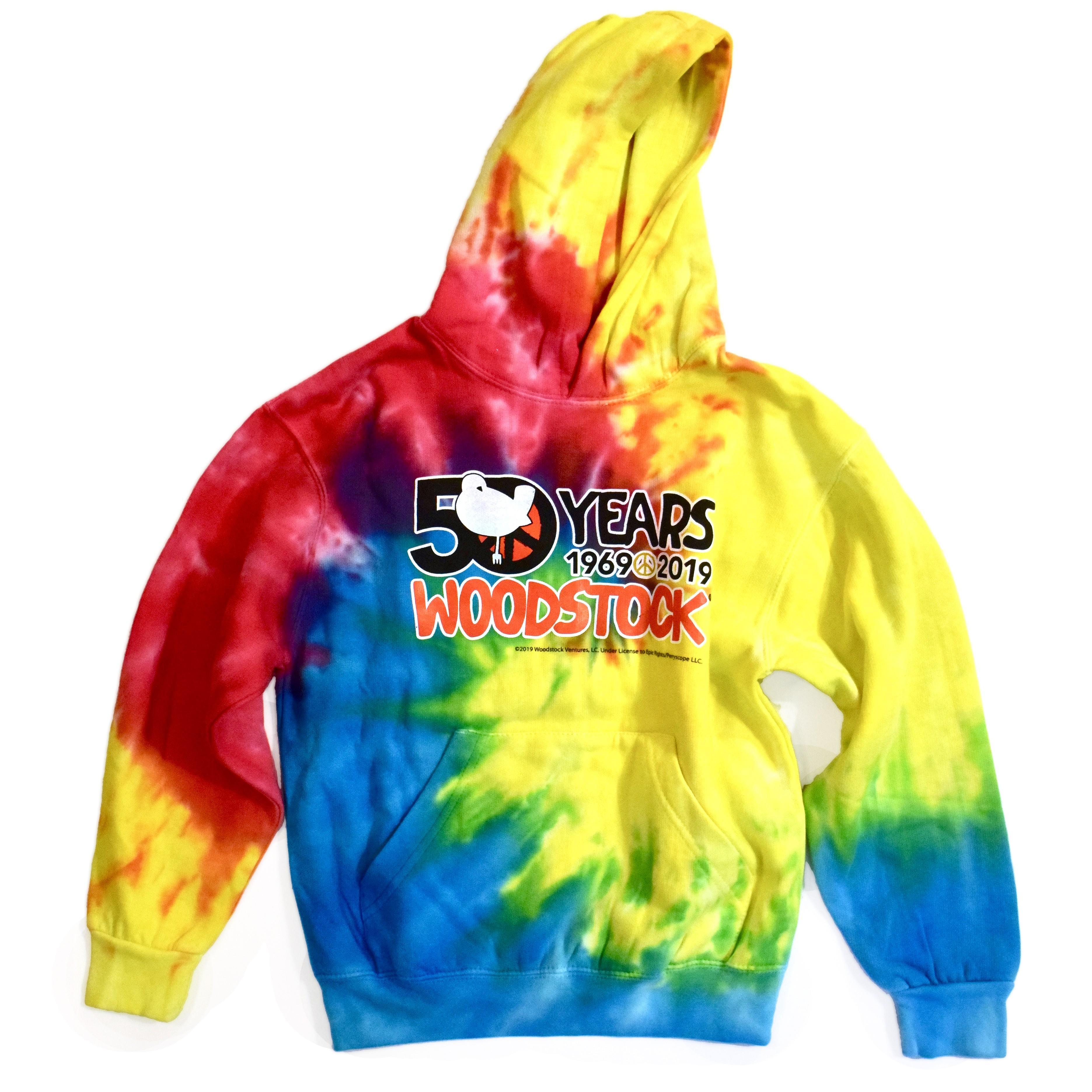 Vintage Woodstock 50th Youth Hoody