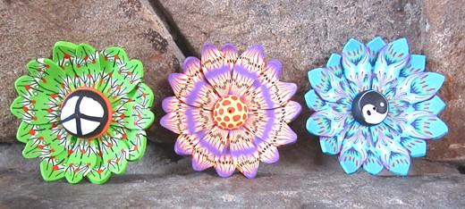 Flower Incense Burner