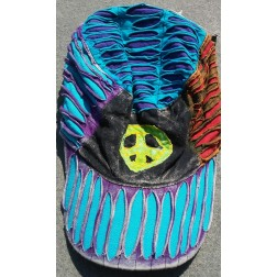 Razor Cut Peace Sign  Hat