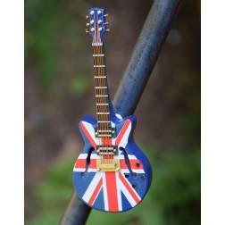 Miniature Guitar Magnets-Union Jack
