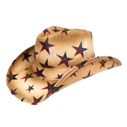 Star Patterned Cowboy Hat