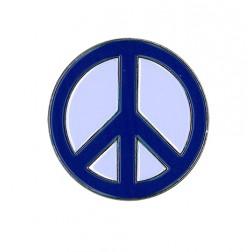 Peace Sign Enamel Pin
