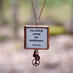Song Lyric Locket Necklace