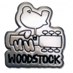 Official Woodstock Logo Pin