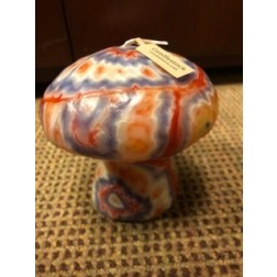 Psychedelic Mushroom Candle
