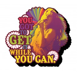 Get it While You Can -- Janis Joplin Magnet