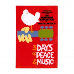 Official Woodstock Poster Sticker