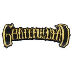 Grateful Dead Gold Banner Patch