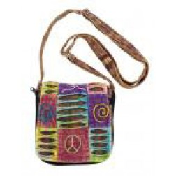 Bag-Razor Cut Peace/Swirl Small Bag