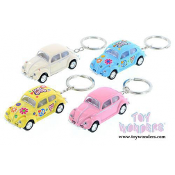 Keychain - VW Hippie Bus Pullback Assorted Colors