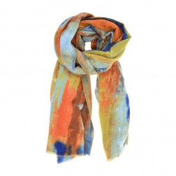 Scarf - Blurred Stripe Scarf