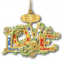 Ornament - Bethel Woods LOVE 2020