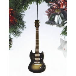 "Ornament - 5"" Electric Guitar with two horns OGC12G"