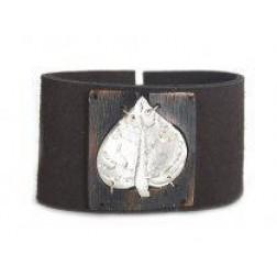 Bracelet -Wide Leather Cuff