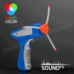 Toy - Spinning Lights Space Blaster Gun
