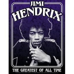 Sticker: Jimi Hendrix Framed, Blk & wht