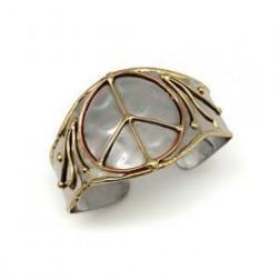 Bracelet - Copper, Gold, Silver Cuff