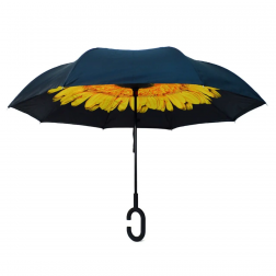 Umbrella - Yellow Sunflower Double Layer Umbrella