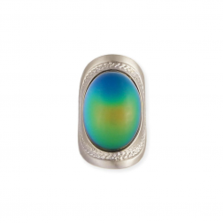 Ring - Wide band Silver Mood Ring