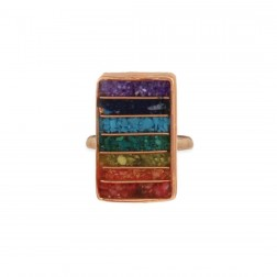 Ring - Align your Chakra Stone Chip Ring