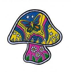 Pin - Dan Morris Mushroom Enamel Pin