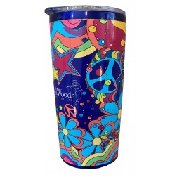 Water/Coffee Tumbler: All over bus art.