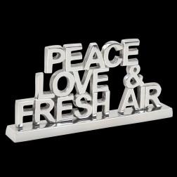 Tabletop Decor -Peace, Love & Fresh Air