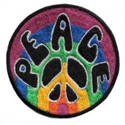 Patch - Rainbow Peace & Symbols Patch