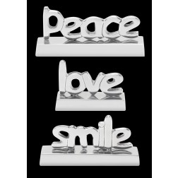 Tabletop - Peace, Love, Smile Trio
