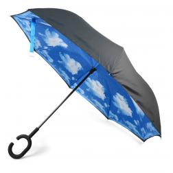 Umbrella - Blue Sky Double Inverted Umbrella