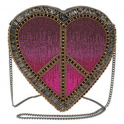 """Bag - """"Love in"""" Crossbody Heart Handbag"""