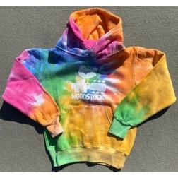 Childrens's Woodstock Tie Dye Hoodie Sweatshirt