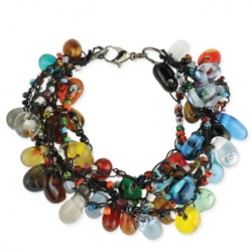 Multi Stand Beaded Bracelet