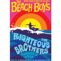 2018 Concert Posters-Beach Boys